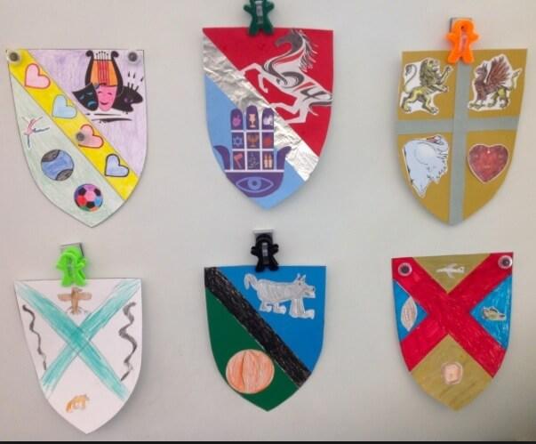 Примеры готовых гербов