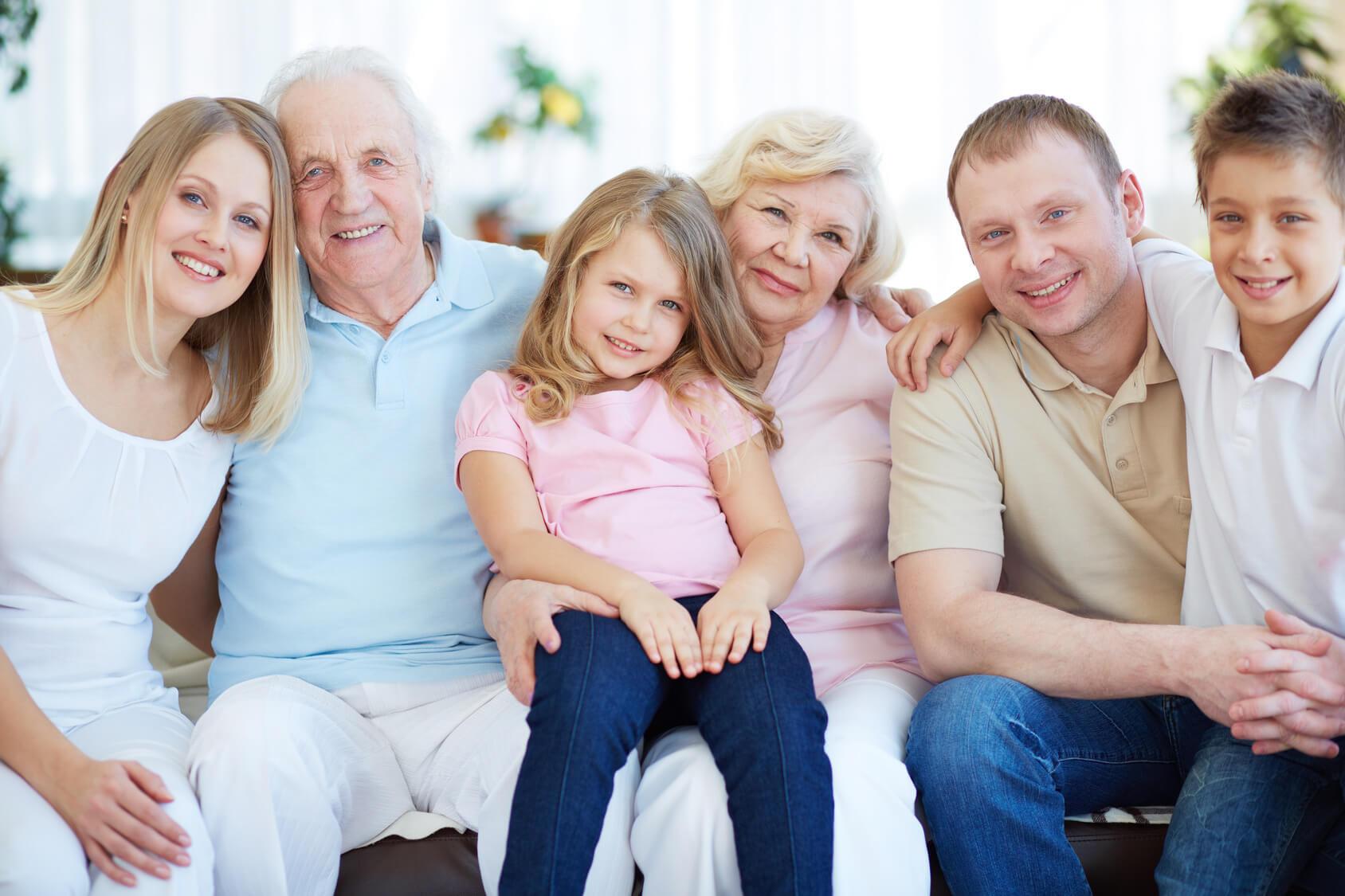 Картинки семья семь человек