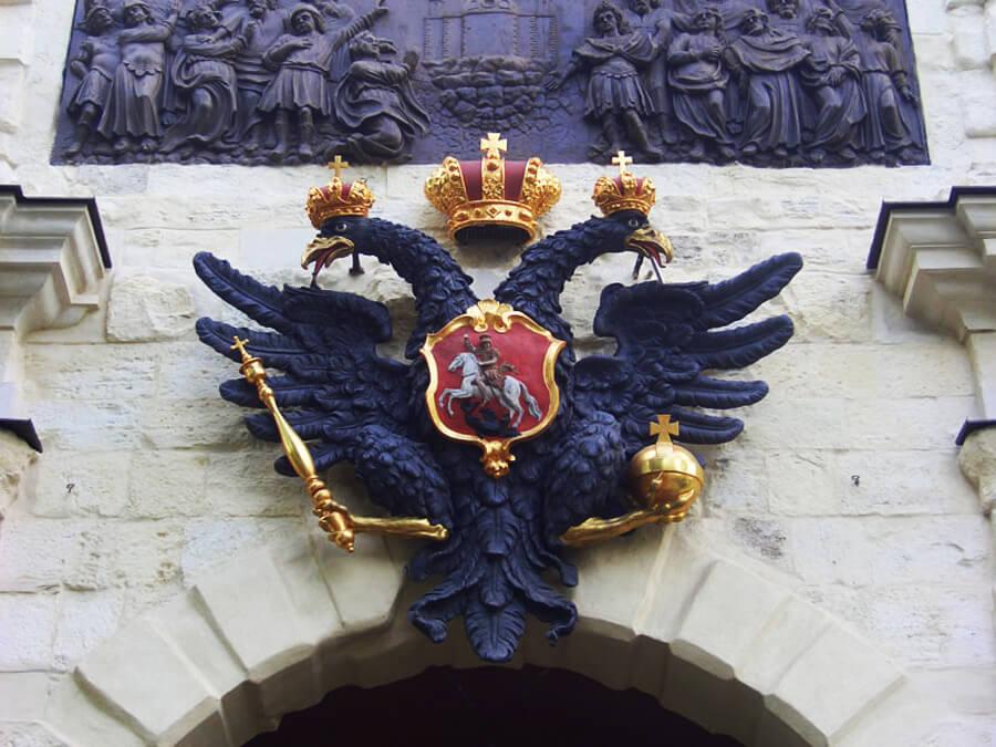 герб при петре первом